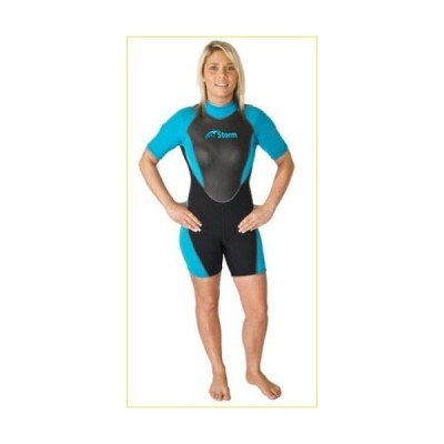 Storm Women's 2mm Shorty - Size 14 by Storm Accessories