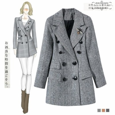 コートレディースチェスターコート着痩せゆったりテーラードジャケット大人通勤韓国風春秋コート