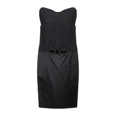 AQUILANO-RIMONDI ミニワンピース&ドレス ブラック 40 ウール 81% / シルク 19% ミニワンピース&ドレス