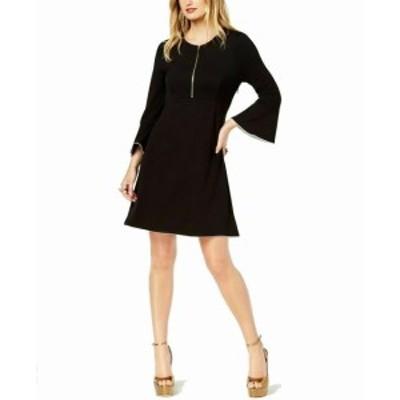 bell ベル ファッション ドレス Zoe By Rachel Zoe NEW Black Womens Size 6 Bell Sleeve A-Line Dress