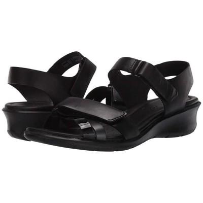 エコー Felicia Ankle Strap Sandal レディース ヒール パンプス Black/Black Dark Shadow Metallic/Black Cow Leather/Calf Leather/