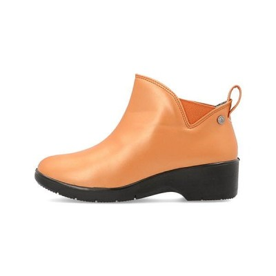 RAINSTEP レインステップ ショートブーツ 長靴 ヒール レディース モールウォーキングバ MALL-WALKING BY PANSY 3660 オレンジ