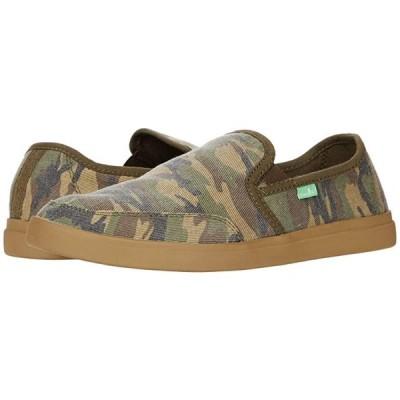 サヌーク Vagabond Slip-On Sneaker メンズ スニーカー 靴 シューズ Woodland Camo