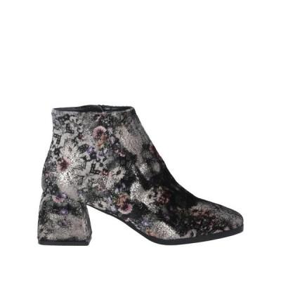 JULI PASCAL Paris ショートブーツ  レディースファッション  レディースシューズ  ブーツ  その他ブーツ ダークグリーン