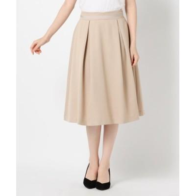 MEW'S REFINED CLOTHES / 配色ベルトフレアタックスカート WOMEN スカート > スカート