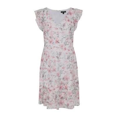 LAUREN RALPH LAUREN ミニワンピース&ドレス ホワイト 0 ポリエステル 100% ミニワンピース&ドレス