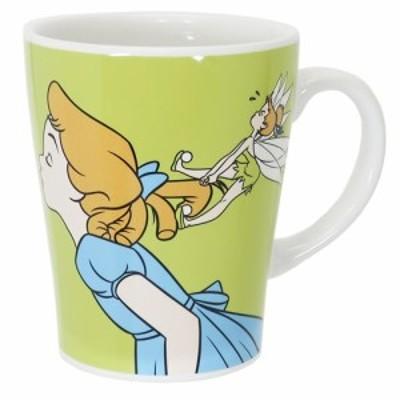 ピーターパン マグカップ 陶器製 マグ アートオブアニメーション ディズニー 350ml キャラクター グッズ