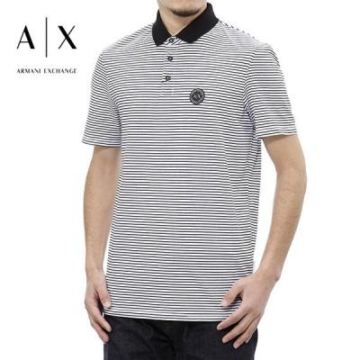 アルマーニエクスチェンジ ポロシャツ(ホワイト) 21春夏モデル AX-033