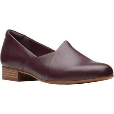 クラークス Clarks レディース ローファー・オックスフォード シューズ・靴 Juliet Palm Loafer Burgundy Leather