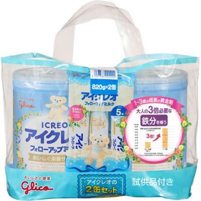 アイクレオ フォローアップミルク (820g*2缶セット)