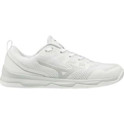 ミズノ レディース スニーカー シューズ TC-02 Training Shoe (Women's) White-Silver