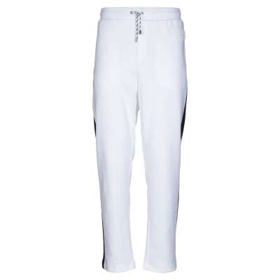 ARMANI EXCHANGE パンツ ホワイト XS ポリエステル 58% / コットン 42% パンツ