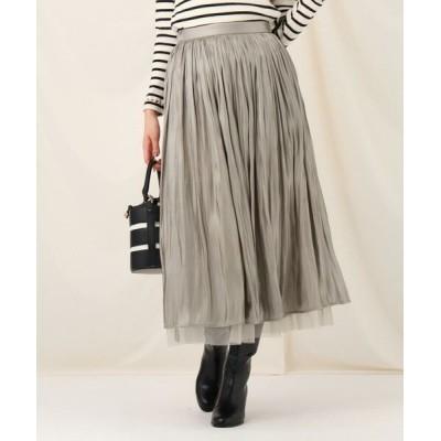 Couture Brooch/クチュールブローチ オーロラヨウリュウリバースカート タバコブラウン(054) 38(M)