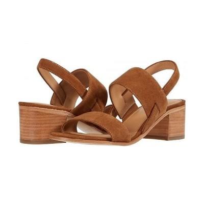 Soludos ソルドス レディース 女性用 シューズ 靴 ヒール Farah Block Heel - Walnut
