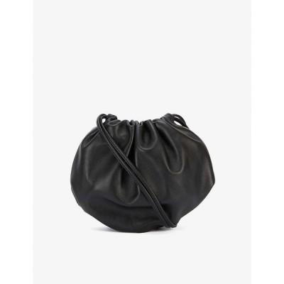 ボッテガ ヴェネタ BOTTEGA VENETA レディース クラッチバッグ バッグ The Mini Bulb leather shoulder bag BLACK GOLD