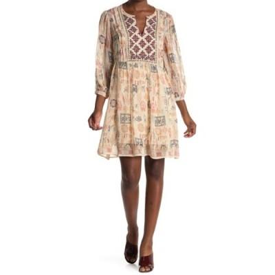 ヴェルヴェットバイグラハムスペンサー レディース ワンピース トップス Tawni Cleo Print Dress MULTI