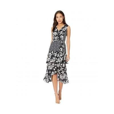 Sam Edelman サムエデルマン レディース 女性用 ファッション ドレス Graphic Botanic - Black/White