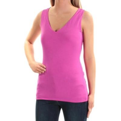 レディース 衣類 トップス INC Womens Purple Sleeveless V Neck Top Size: XS ブラウス&シャツ