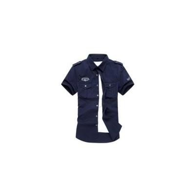 Tシャツ カットソー メンズ 半袖シャツ ミリタリーシャツ 綿100