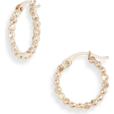 セットアンドストーンズ SET & STONES レディース イヤリング・ピアス フープピアス ジュエリー・アクセサリー Andie Mini Hoop Earrings Gold