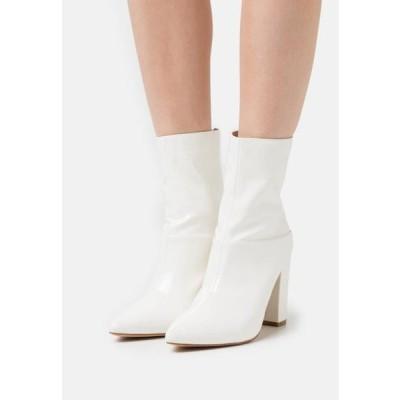 ビーノ レディース 靴 シューズ JUNA - High heeled ankle boots - white