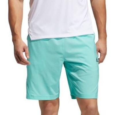アディダス メンズ ハーフパンツ・ショーツ ボトムス adidas Men's Axis Woven 2.5 Shorts Acid Mint