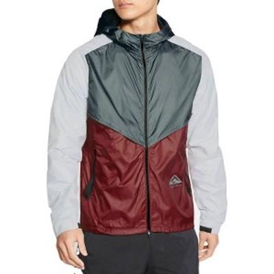 ナイキ メンズ ジャケット・ブルゾン アウター Nike Men's Windrunner Trail Jacket Hasta