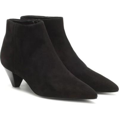 メルセデス カステロ Mercedes Castillo レディース ブーツ ショートブーツ シューズ・靴 julienne suede ankle boots Black