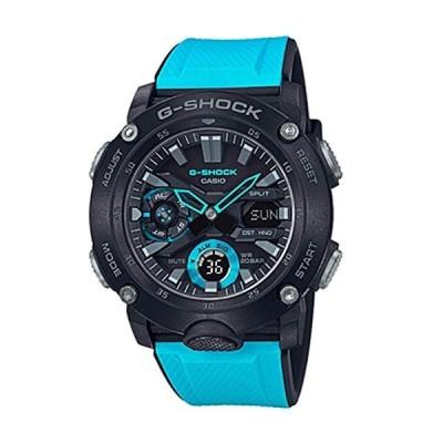 CASIO G-SHOCK GA-2000-1A2 カーボンコアガード ブルー アウトドア LED メンズ 腕時計