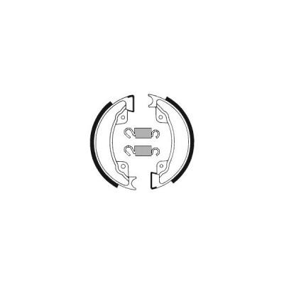 TECNIUM TECNIUM:テクニウム ブレーキシューズ オーガニック【BRAKE SHOES ORGANIC】【ヨーロッパ直輸入品】 XL500R (500) 82 Position :Front  HONDA ホンダ