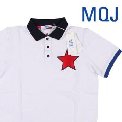 【S】 MQJ エムキュージェイ 半袖ポロシャツ メンズ 春夏 ホワイト 白 並行輸入品 トップス