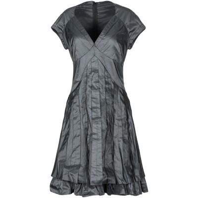 X'S MILANO ミニワンピース&ドレス ブラック 40 ポリエステル 100% ミニワンピース&ドレス