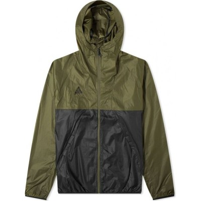 ナイキ Nike メンズ ジャケット アウター acg lightweight jacket Cargo Khaki/Black