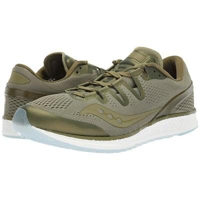 サッカニー Freedom ISO メンズ スニーカー 靴 シューズ Olive