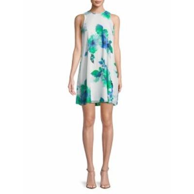 カルバンクライン レディース ワンピース Sleeveles Floral Shift Dress
