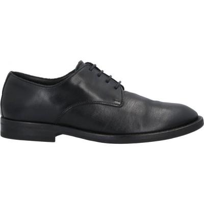 セボーイズ SEBOY'S メンズ 革靴・ビジネスシューズ シューズ・靴 Laced Shoes Black