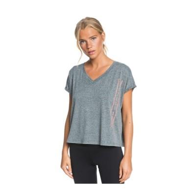 tシャツ Tシャツ SUNSHINE SOLDIERS/ロキシー 半袖 Tシャツ ジム ヨガ フィットネス ランニング ルームウェアにも