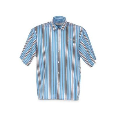 マルニ メンズ シャツ トップス Striped Relaxed Fit Bowler Shirt