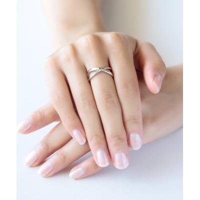 指輪 silver925 クロスリング(ニッケルフリー)