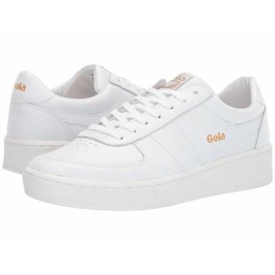 ゴラ スニーカー シューズ メンズ Grandslam Leather White/White/White