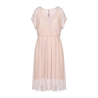EMMA & GAIA ミニワンピース&ドレス ライトピンク 44 シルク 100% ミニワンピース&ドレス