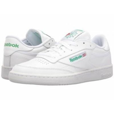Reebok Lifestyle リーボック メンズ 男性用 シューズ 靴 スニーカー 運動靴 Club C 85 Int/White/Green【送料無料】