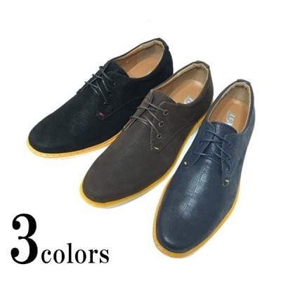 メンズ カジュアルシューズ オックスフォード スニーカー 市松模様 外羽根 靴 ホワイトソール 新入荷