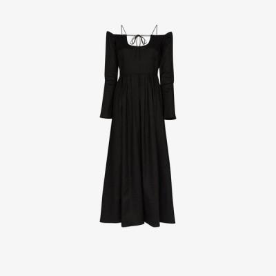 バイエニィアザーネーム By Any Other Name レディース パーティードレス ワンピース・ドレス Pastoral off-the-shoulder dress black