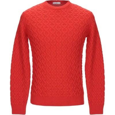 パオロ ペコラ PAOLO PECORA メンズ ニット・セーター トップス sweater Red