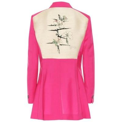 ロエベ Loewe レディース スーツ・ジャケット アウター Botanical Wool Blazer Pink