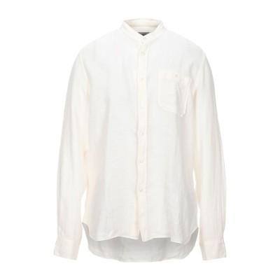 ウールリッチ WOOLRICH シャツ アイボリー XL リネン 100% シャツ