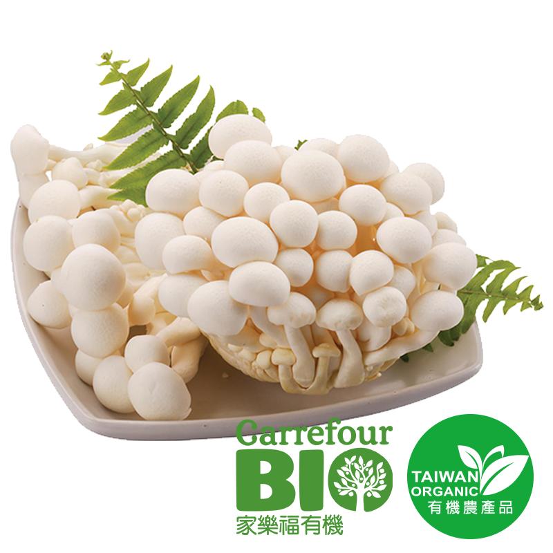 家樂福有機雪白菇150g