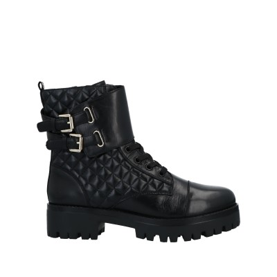 スティーブ マデン STEVE MADDEN ショートブーツ ブラック 8.5 革 / 合成繊維 ショートブーツ