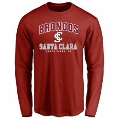 Fanatics Branded ファナティクス ブランド スポーツ用品  Santa Clara Broncos Cardinal Campus Icon Long Sleeve T-S